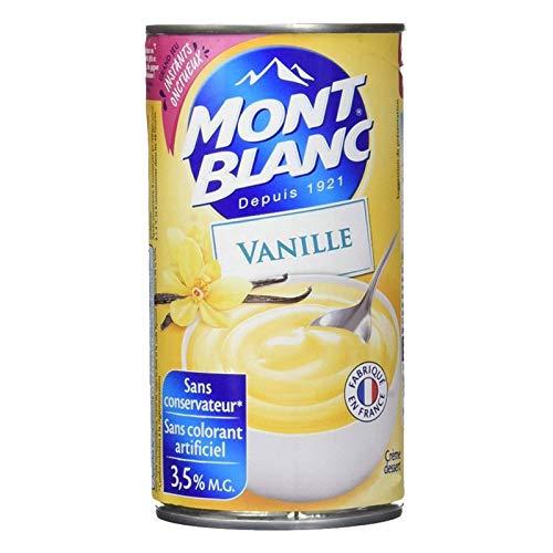 Mont Blanc Dessert Vanillecreme 4.3kg