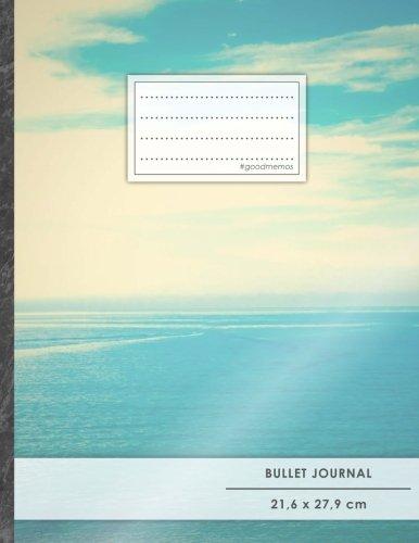 "Bullet Journal • A4-Format, 100+ Seiten, Soft Cover, Register, ""Horizont"" • Original #GoodMemos Dot Grid Notebook • Perfekt als Tagebuch, Zeichenbuch, Kalligraphie Buch"