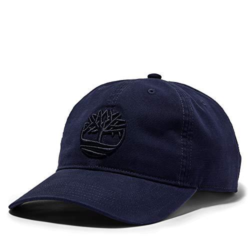 Timberland Herren Klassisch 'Cotton Canvas Baseball Cap' (Peacoat) One Size