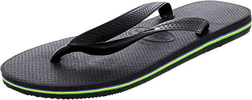 Havaianas Men's The Brasil Sandal 10.5 Black