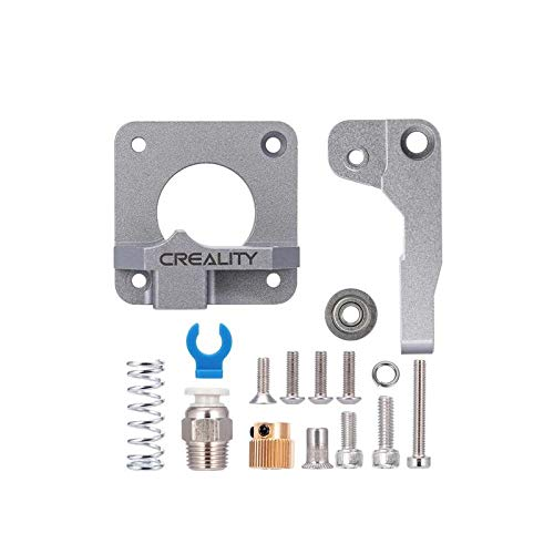 Creality Upgrade Aluminum Parts MK8 Extrusora Bloque de aleación Bowden Extrusora 1.75mm Filamento para Ender3/Pro, Ender5/Plus, CR-10S Pro, CR-10 V2