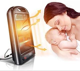 HLDWXN Portátil Calefactor Eléctrico con 2 configuraciones de Calor, Calentador eléctrico, para Escritorio de Oficina en el hogar, Protección contra sobrecalentamiento y vuelcos