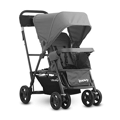 Save %12 Now! JOOVY Caboose Ultralight Graphite Stroller, Gray