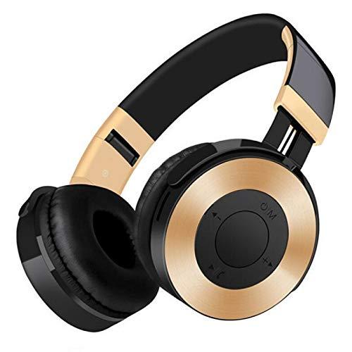 xiaoxioaguo Auriculares Bluetooth inalámbricos deportivos estéreo con modo TF/FM/Mike para teléfono/VR/MP3