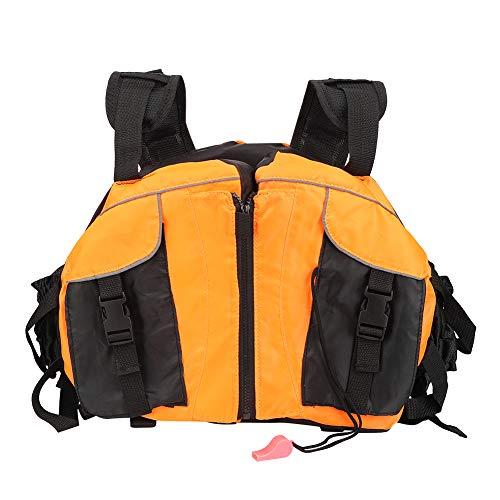 Chaleco de navegación para jóvenes de tamaño Libre 422g, Chaleco Salvavidas, Chaleco Salvavidas cómodo y cómodo, Barco a la Deriva Naranja para Kayak