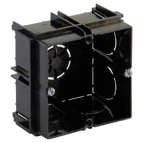WOLFPACK LINEA PROFESIONAL Caja Empotrar 1 Elemento Enlazable 65x65x40 mm.