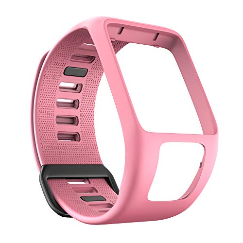 ANBEST Compatible con la Pulsera Tomtom Runner 3, Banda de TPU de protección Ambiental para Tomtom Spark 3, Runner 2, Golfer 2, Adventurer Smart Watches