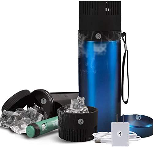 GAONAN Portable Thermostat Car refrigerator Car Refrigerator Refrigerator Insulin Refrigerator Box Compact, Portable Quiet Suitable For Medications/family/Travel Mini Fridges Car cooler (Color : A)