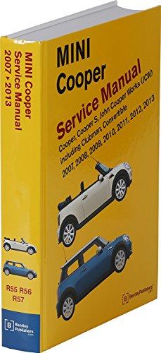MINI Cooper (R55, R56, R57) Service Manual: 2007, 2008, 2009, 2010, 2011, 2012, 2013