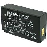 Otech bateria Compatible para Nikon EN-EL20A
