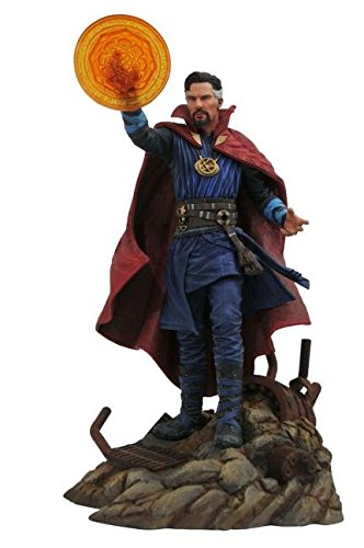 DIAMOND SELECT TOYS APR182159 Select Toys Marvel Gallery: Avengers Infinity War Movie Doctor Strange PVC Diorama Figure, Blue