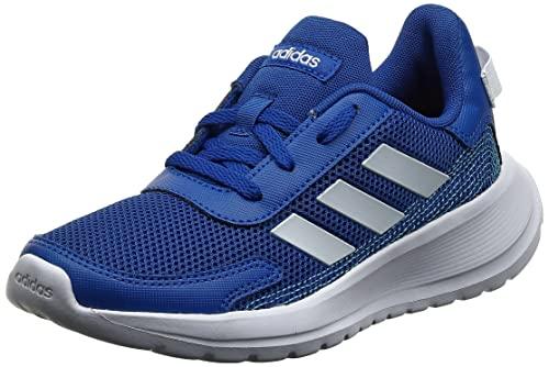 adidas Tensaur Run Sneaker, Team Royal Blue/Footwear White/Bright Cyan, 38 EU