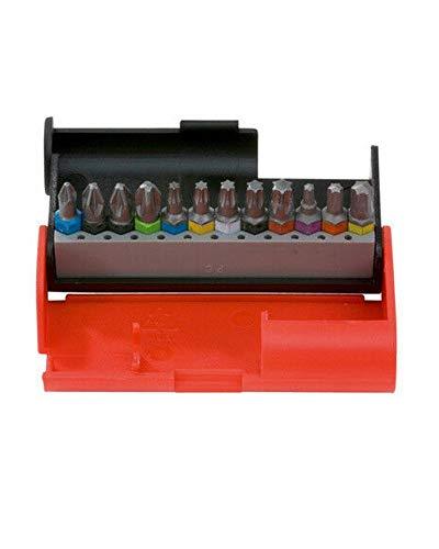 Würth 614250103 BIT BOX AW/PZ/TX 12PZ, Rot