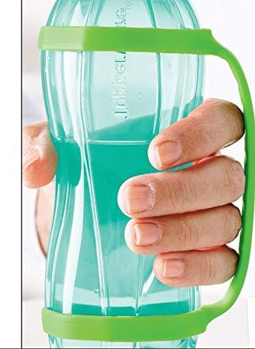 TUPPER WARE - Soporte con asa para botella Eco Ecoeasy, color verde