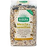 Biográ - Mix de Semillas de Girasol, Sésamo, Calabaza, Lino y Amapola (250 g)