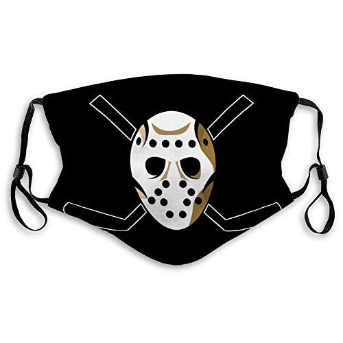 Waschbarer wiederverwendbarer Schild für Männer Kinder Teenager Horror Hockey Maske Halloween Halloween Horror Hockey Maske One Size