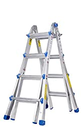 Toprung Aluminum Extension Multi-Purpose Ladder