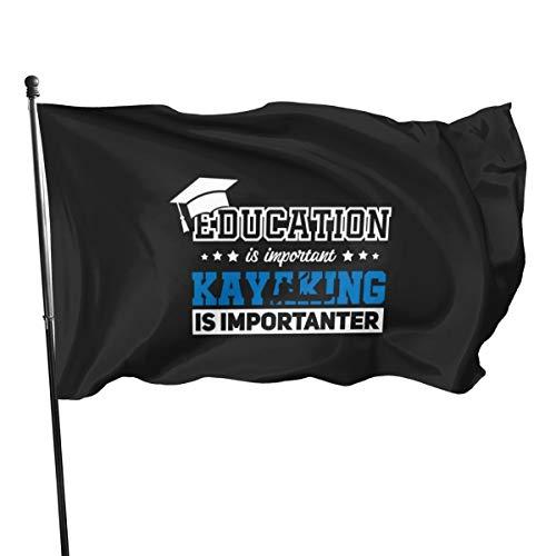 Banderas de banderines para kayak o kayak, de 3 x 5 pies