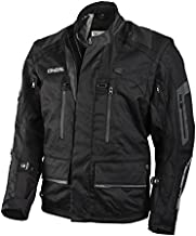 O'Neal 1104-105 Baja Unisex-Adult Jacket (Black, X-Large)