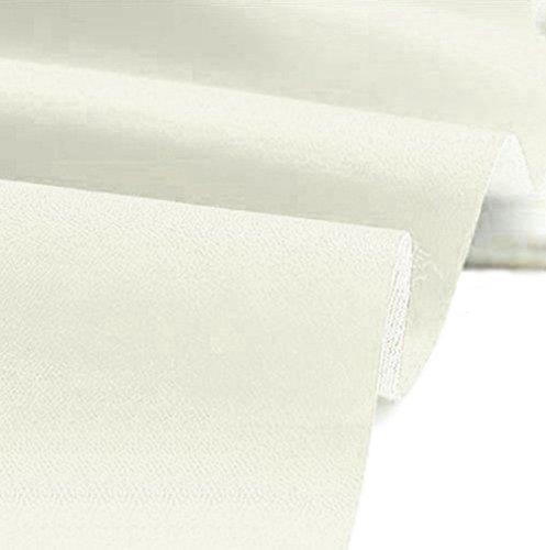 A-Express Kunstleder Lederimitat Lederstoff Polsterstoff Möbelstoff Meterware Bezugsstoff - Creme - 100cm x 140cm