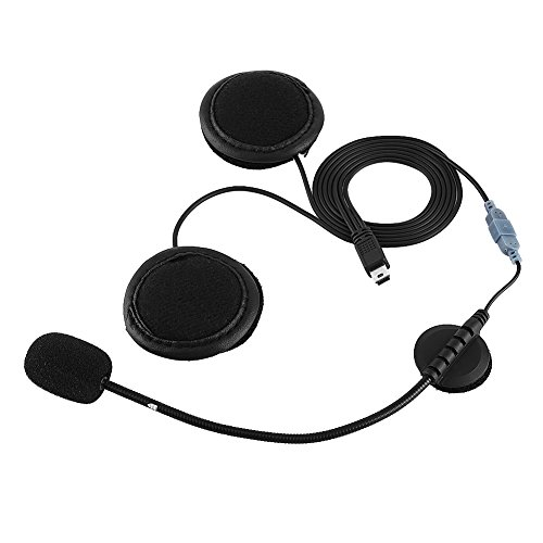 Auriculares del Auricular de Bluetooth, micrófono del Auricular de los Auriculares de Bluetooth para el intercomunicador del Casco de la Motocicleta V8