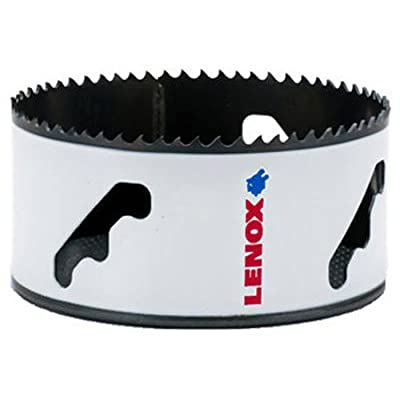 """LENOX Tools Bi-Metal Speed Slot Hole Saw with T3 Technology, 3-3/4"""""""