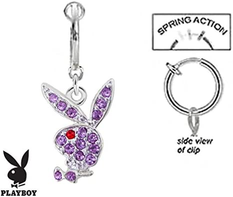 playful piercings Fake Belly Navel Non Mesa Mall Clip Beauty products Licens on Officially