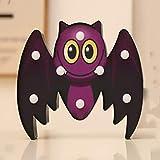 belupai Decoración de Halloween LED calabaza araña luces funciona con pilas LED murciélago esqueleto de la cabeza de la luz para Halloween Navidad Casa Fiesta KTV Prop Luz Decoración