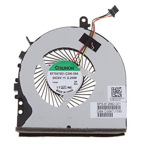ZGQA-GQA Ventilador de refrigeración de CPU Original de Repuesto de Piezas de portátil para portátil HP 15-ac615tu 15-Ae Envy m6-p100