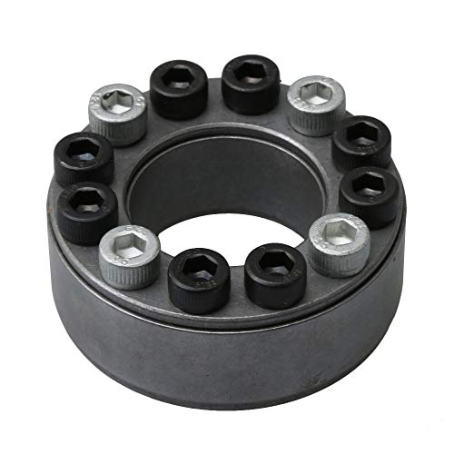Z2-Type Keyless Shaft Hub Locking Device 45# Steel for CNC (OD 60mm ID 32mm)