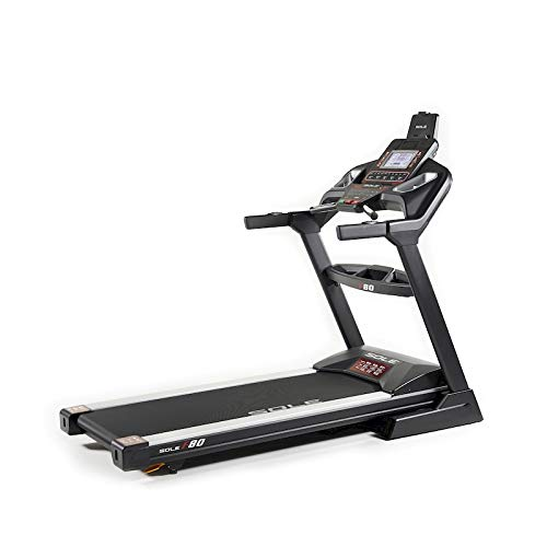 Tapis Roulant Sole Fitness F80-20 Bluetooth 3.5/6.5 HP 20km/h 585x1525 App Ready (Modello 2020)