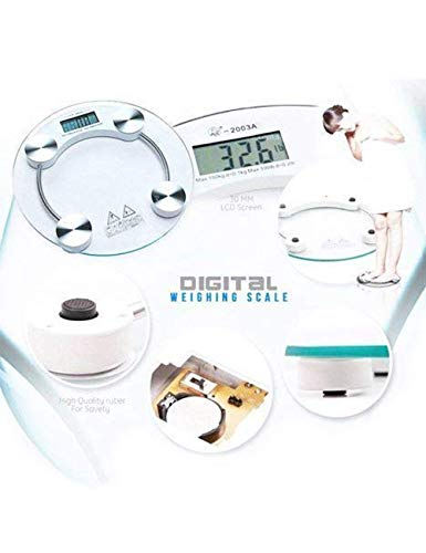 Ibad Store Digital Personal Body Weighing Scale, Strong & Best ABS Build...