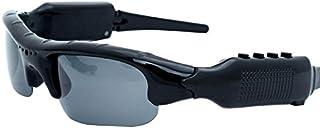 iFormosa ブルートゥース Bluetooth サングラス カメラ 内蔵 ヘッドホン イヤホン for iPhone スマートフォン パソコン タブレット ブラック 黒 IF365-BK