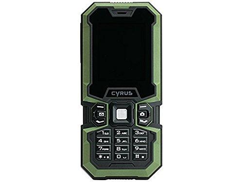 Cyrus Technology CM5 Outdoorhandy, DualSim, IP67 zertifiziert, wasserfest, 1,3 Mpix Kamera, Bluetooth, GSM, max. Speicher 16 GB
