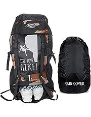 POLESTAR 55 Ltrs 24 cm Trekking Backpack & Rain Cover