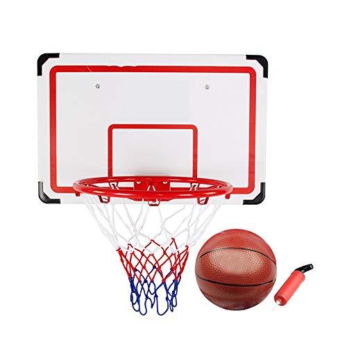 Canasta de baloncesto para niños Colgando de baloncesto cubierta del marco de disparo Junta Tablero trasero de baloncesto juvenil de montaje en pared de 70 cm de niños Aro de baloncesto para niños fác