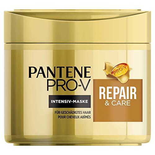 Pantene Pro-V Repair & Care Haarmaske, Haarkur Trockenes Haar, Haarkur, Haare Kur, Haarpflege Trockenes Haar, Haarpflege für Trockene Haare, Haarpflege Glanz, für Geschädigtes Haar, 300 ml