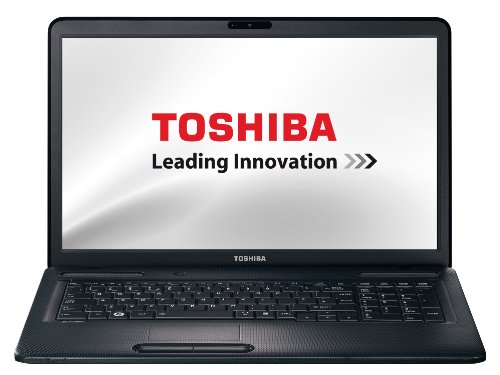 Toshiba Satellite C670-186 43,9 cm (17,3 Zoll) Laptop (Intel Pentium B950, 2,1GHz, 4GB RAM, 750GB HDD, NVIDIA GT 520M, DVD, Win 7 HP)