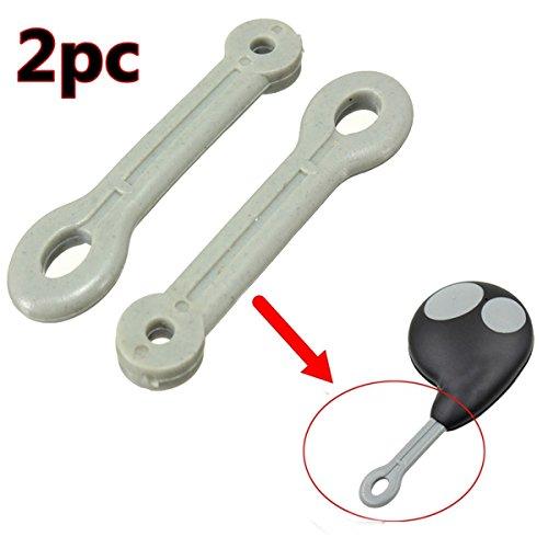 DADEQISH 2 unids caso anillo de goma correa de lazo para botón remoto llavero Fob Loop Cobra alarma Accesorios para herramientas de motos