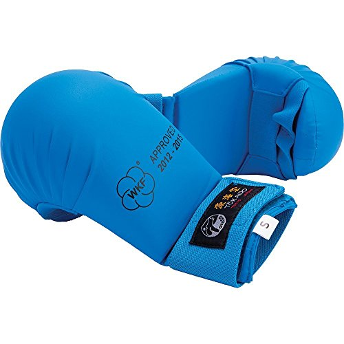 Tokaido WKF Karate Mitt Blue (Large)