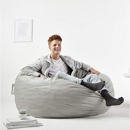 Fuf Large Velvet Bean Bag Chair & Lounger