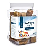 Native Pet Yak Chews for Dogs (Bulk Size - 10 Medium Chews). Pasture-Raised and...