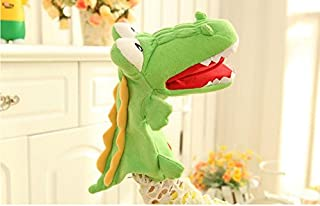 Zachte en schattige handpoppen speelgoed kinderen dierlijke hand poppen dierlijke jongen pop (krokodil)