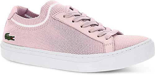 Lacoste Mädchen La Piquee 119 1 Cfa Sneaker, Pink (Lt Pnk/Wht 208), 35.5 EU