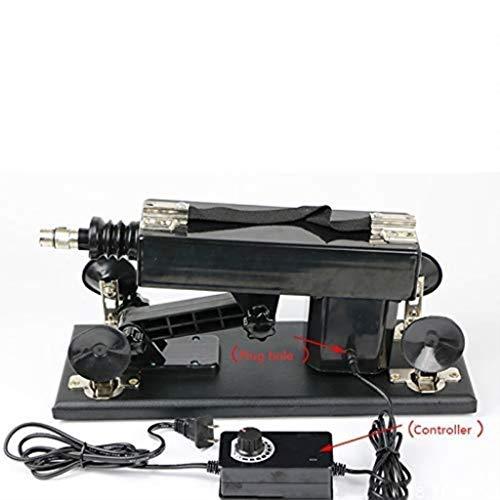 RINGO123 Auto elektrische Teleskop-Massagemaschine Kink Liebesmaschine einstellbar Adullt Toy T-Shirt