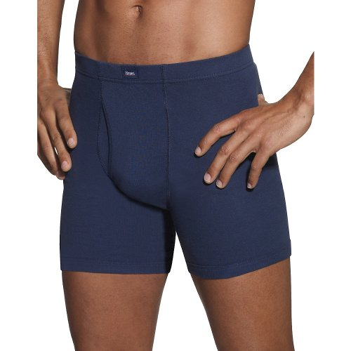 Hanes Men's FreshIQ Comfort Soft Waistband Boxer with ComfortFlex Waistband Brief - X-Large - Assorted (5 pack)