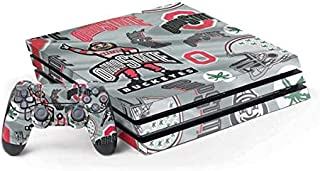 Skinit Decal Gaming Skin Compatible with PS4 Pro Console and Controller Bundle - Officially Licensed Ohio State University...