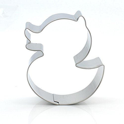 GXHUANG Stainless Steel Cookie Cutter (Duck),for Anniversary Birthday Christmas New Year Party