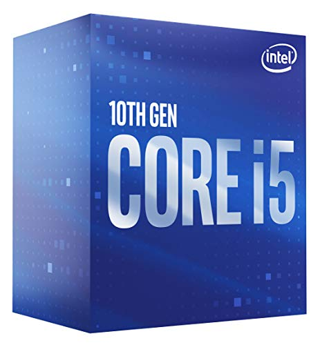 Intel Core i5-10400 6-Kern bis zu 4,3 GHz LGA1200 (Intel 400 Series Chipset) 65W BX8070110400