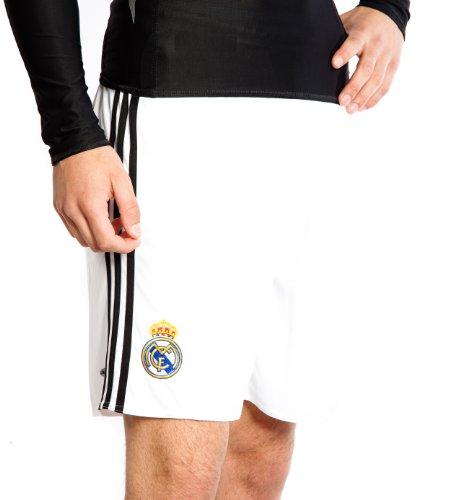adidas - Real Madrid 1ª Pantalon 08/09 Hombre Color: Blanco Talla: XL